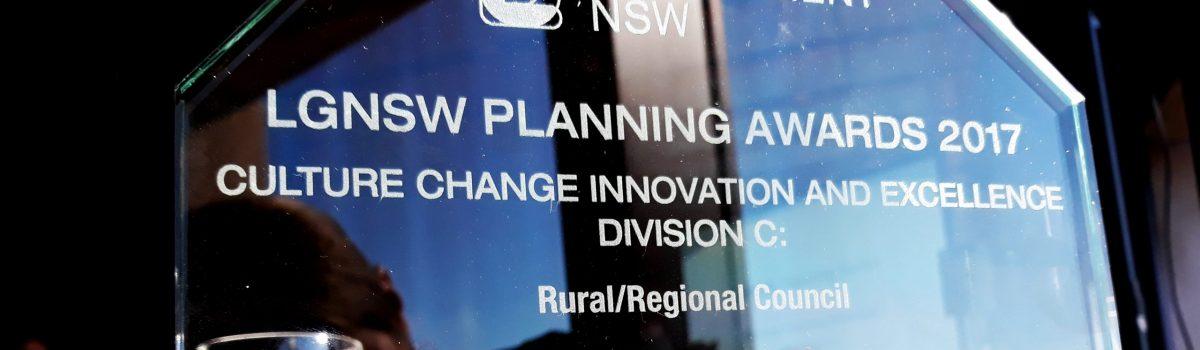 Goulburn Mulwaree Employment Land Strategy wins 2017 Local Government  Award