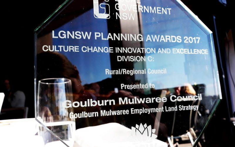 Goulburn Mulwaree Employment Land Strategy wins 2017 Local Government  Award