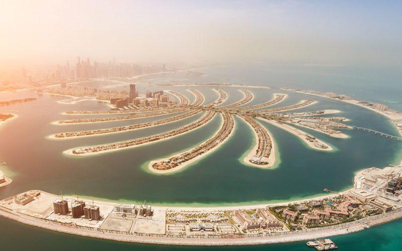 The Palm Dubai Development
