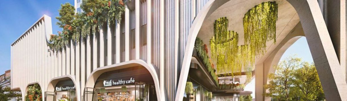 Four student housing towers to rise up round UNSW